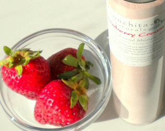 Sample Size Facial Mask Mix with Real Strawberry, Yogurt, Honey and Organic Oats - No Preservatives