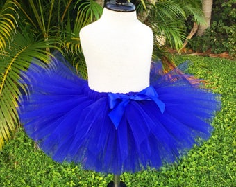 Royal blue tutu, full tutu skirt, newborn photo prop, cake smash tutu, birthday tutu, best selling items, baby girl tutu, toddler tutu