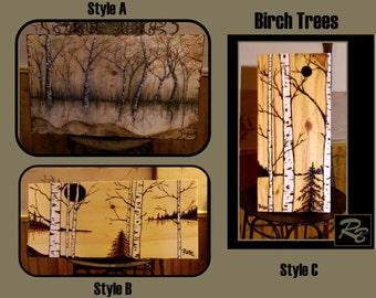 tree  art,nature art,rustic decor,lodge decor,nature lovers,tree lovers,rustic bathroom decor, home decor, wall art, custom art