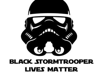 black storm trooper