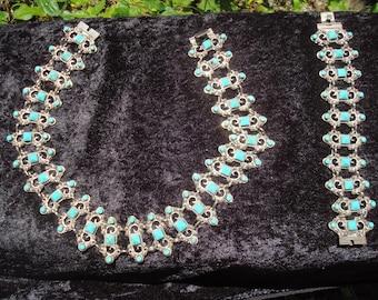 Necklace and Matching Bracelet Set