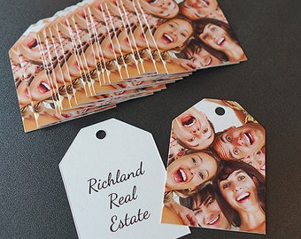 Gift Tags and Favor Tags for Churches, Family Reunions, and Fundraisers (Ticket Tags)