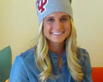 Beanie slouchy hat - Indiana University
