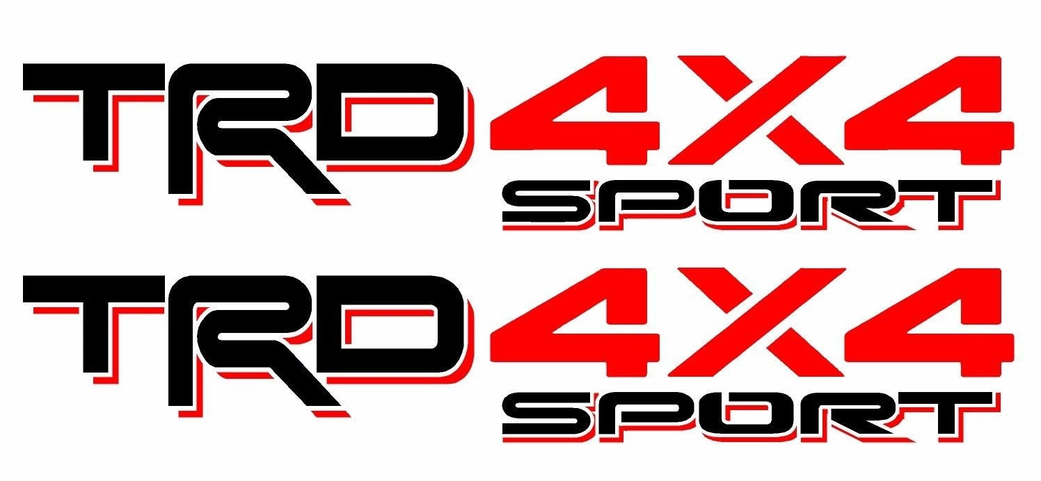 Toyota TRD Truck Off Road 4x4 Sport Toyota Racing Tacoma Decal