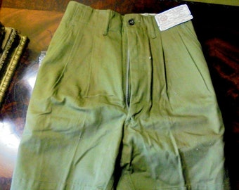 Vintage Boy Scout Uniform 1970s Shorts Size 24 Style 545 New Old Stock Never Worn