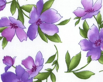 Maywood - Catalina Ultraviolet by Marti Michell - Medium Floral (MAS8401) - Floral