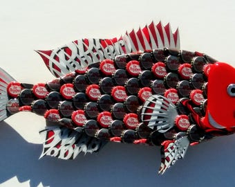 Bottle Cap Fish  Dr Pepper Bottlecap Grouper