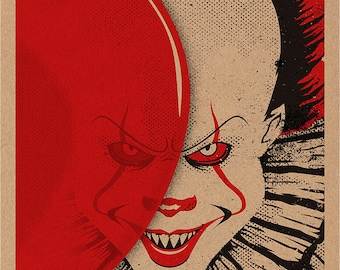 Pennywise the Clown (new version) print 11x17