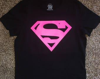 Girls superhero shirt
