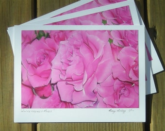 A Rose is A Rose is A Rose, Photo Art Card