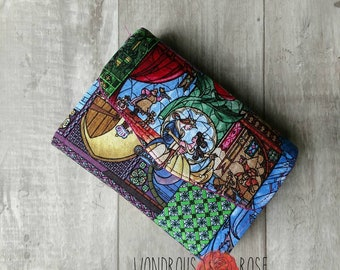 Necessary Clutch Wallet Mini Beauty and the Beast Print