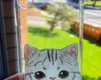 iPhone X case - lil kitty