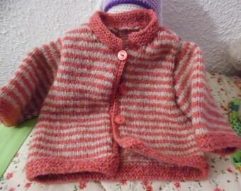 Fashion baby little striped vest