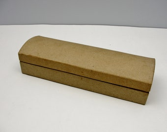 Paper mache pencil case