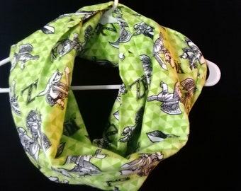 Legend of Zelda, Link flannel infinity scarf