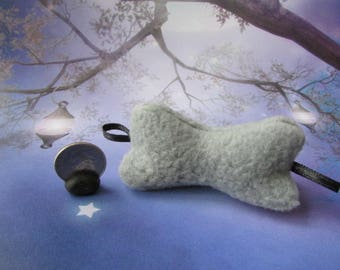 Barbie,  Blythe, 1:6 scale  Gray Neck Travel pillow