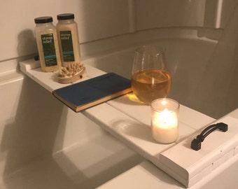 Shabby Chic Bathtub Tray