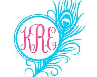 Feather Personalized Decal