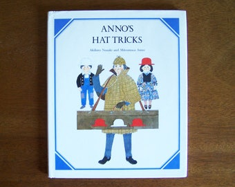 Anno's Hat Tricks by Akihiro Nozaki and Mitsumasa Anno - Children's Educational Book - Problem Solving, Mathematical Concepts, Binary Logic