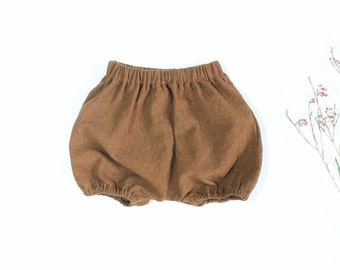 Bloomers in Cinnamon Linen/Cotton Blend