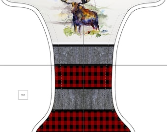 Pre-order coat Plaid Moose