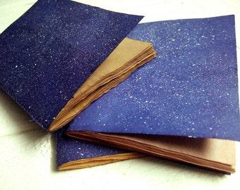 Cosmos - Jotter, cuaderno de bolsillo, Mini revista con papel antiguo