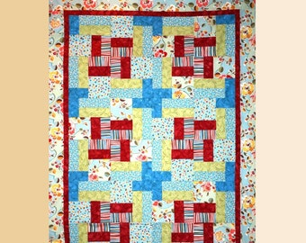 Color and Charm Beginner Quilt Pattern