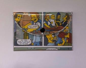 Simpsons comic purse