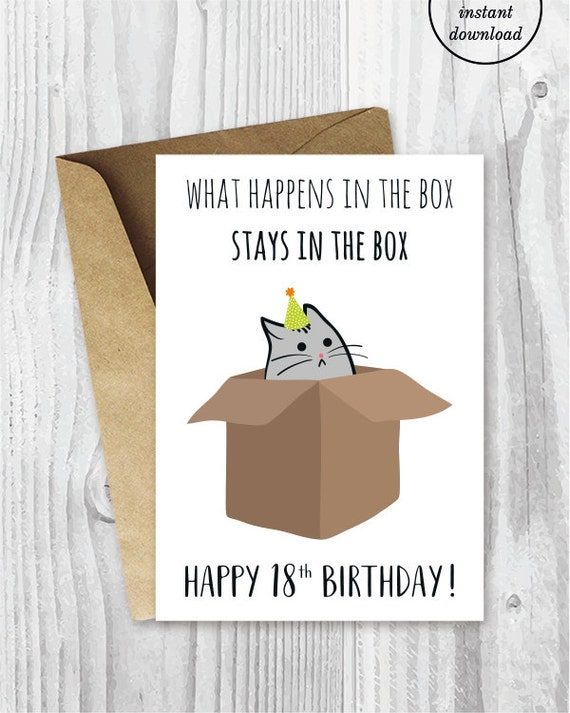18th birthday printable cards funny 18th birthday cards bookmarktalkfo Images