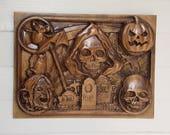 Grim Reaper Halloween Wal...