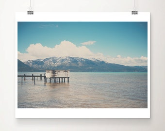 lake tahoe photograph mountains photograph california photograph lake tahoe print california print wanderlust art