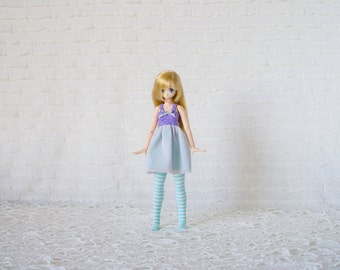 Glittering pink dress for azone pureneemo