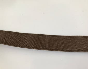 18 mm Brown elastic Ribbon
