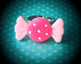 Adjustable Sweet Candy Ring