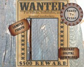 Wild West Barn Door Photo Booth Backdrop Printable 3 Sizes Steampunk Selfie Station Background Country Boho Chic Rustic Wedding Party Decor