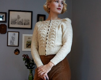 Forest Berry Jacket Knitting Pattern