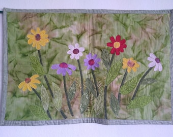 Quilt Arts, Wall Hanging, Spring