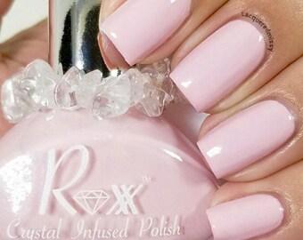 Rose Quartz Polish - Forgiveness Heals - Unique Nail Polish - Crystal Infused Polish- Heart Chakra - Crystal Energy