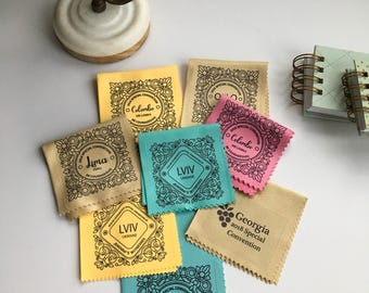 Handmade Assorted Monogram Style 2018 Special Convention Gift Lens Cloths