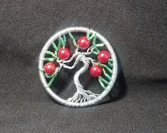 Apple Tree Tree of Life Pendant