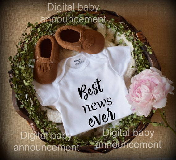 Personalized Baby Announcement / Facebook Baby Announcement