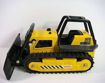 Tonka Bulldozer 1980's Made in USA Bulldozer Tonka Vintage Tonka Toy