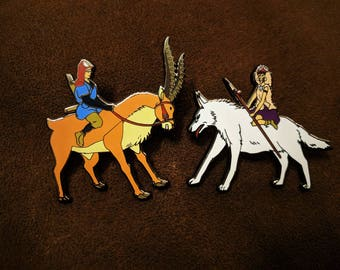 Mononoke Forest Partners Pin Set