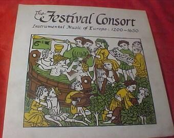The Festival Consort LP CFS2022 vintage 60s dg vinyl record  60s mint