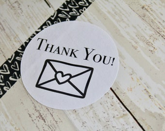 THANK YOU, Happy Mail, Snail Mail, Thank You Stickers (16)