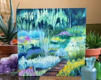 Original Painting - Morning Walk