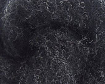 Thunder - Shades of Grey - Corriedale Wool - Bulky Roving - Needle Felting - Wet Felting - Spinning - 1, 2 or 4 ounce sizes
