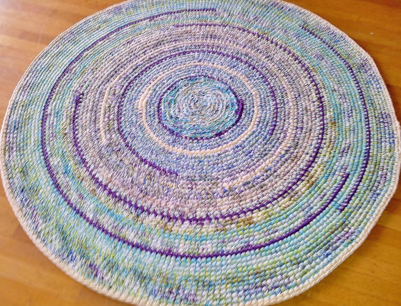 Crochet Rug/Made to Order/Custom Order Rug/Rug/Rugs/Four Foot
