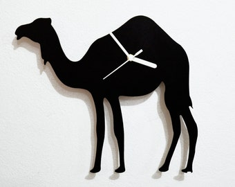 Camel Silhouette - Wall Clock