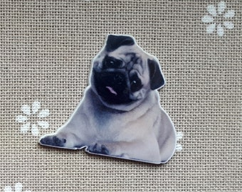 Dog needle minder for cross stitching/embroidery